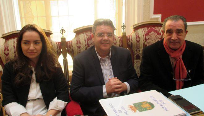 El presupuesto municipal fue aprobado con los votos del PSOE e IU