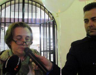 Manifiesto leído por la voluntaria de Cáritas,  Isabel Talavera
