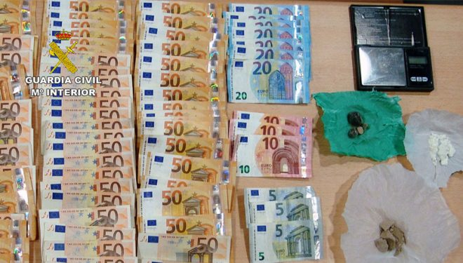 Detenido un vecino de Hellín con 250 dosis de heroína y cocaína en Jumilla