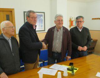 Firmado el convenio entre la Fundación Matilde Izquierdo y ASPRONA