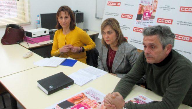 Comisiones Obreras pide la participación en los actos del Día Internacional de la Mujer