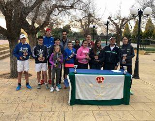 Cinco jugadores del Club de Tenis Hellín clasificados para el Torneo Regional