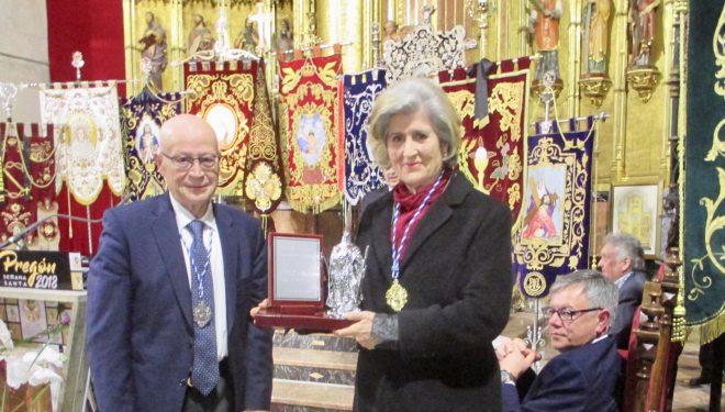 Teresa Romero pregonó la Semana Santa de Hellín