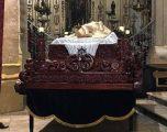 Presentación del nuevo trono del Cristo Yacente