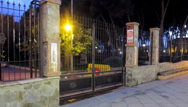Cuatro días cerrado el Parque Municipal