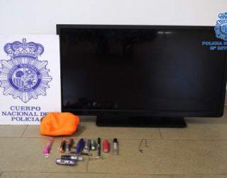 Detenida una pareja por el robo de un televisor