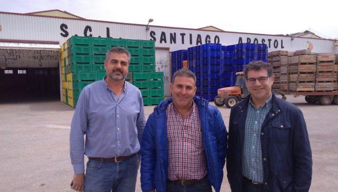 Manuel Serena continúa con  la ronda de visitas a colectivos agrarios, socio-sanitarios y empresariales