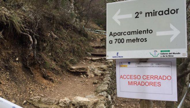 Tras la muerte de un visitante, se cierran dos miradores del Parque Natural de los Calares del Río Mundo y de la Sima