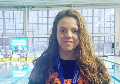 Nerea Ibáñez campeona de España Absoluta Joven en los 200 metros libres