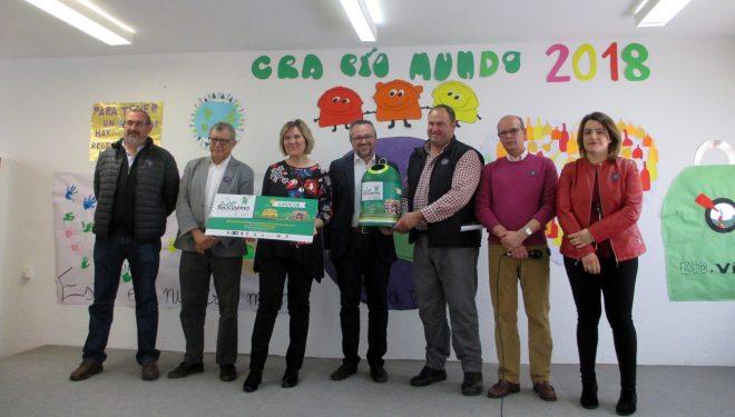 """CRA Río Mundo de Hellín consigue el 2º premio del concurso """"La Liga Peque Recicladores"""""""