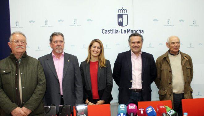 Presentación del XXIV Certamen de Calidad de los Vinos de Jumilla, un evento de carácter anual que se celebrará los días 12 y 13 de abril, en Albacete