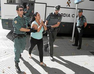 "La Guardía Civil detiene en Hellín  a la llamada ""Reina de la coca"" fugada de Mallorca"