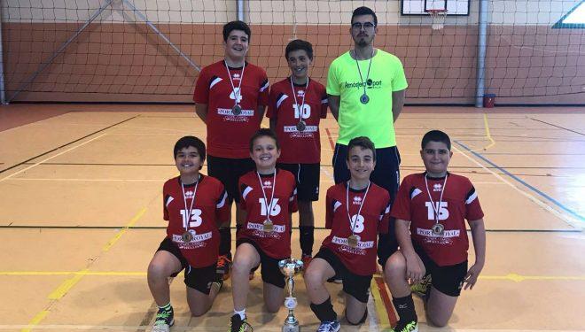 El equipo de Alevín Capuchinos campeón de Castilla-La Mancha