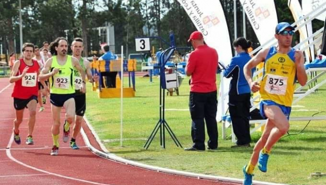 José Martínez Morote consigue cuatro medallas en el Campeonato de Atletismo celebrado en Burgos