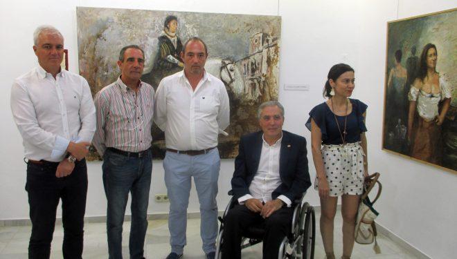 Inaugurada en el Museo Comarcal la exposición del pintor José Ángel Ramírez