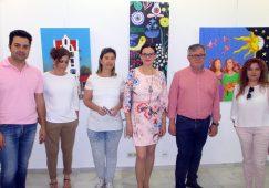 Inaugurada en el Museo Comarcal la muestra del Taller de Pintura y Dibujo de la UP