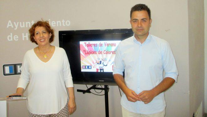 """Puesta en marcha de los Talleres de Verano """"Lápices de Colores"""" en las instalaciones del Colegio Martínez Parras"""