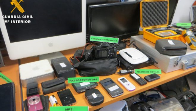 Detenidas dos personas por robos en Tobarra Ontur e Isso