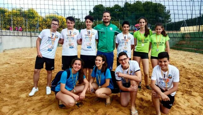Triunfo total del Club Voleibol Capuchinos