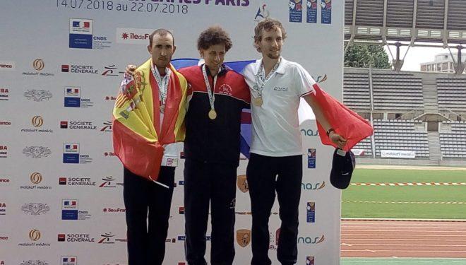 Morote medalla de plata en los campeonatos al Aíre Libre celebrados en París