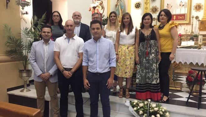 Los políticos de la Junta se vuelcan con la procesión del patrón de Agramón