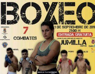 La boxeadora hellinera, Ángela Cabrera, debuta esta noche en Jumilla