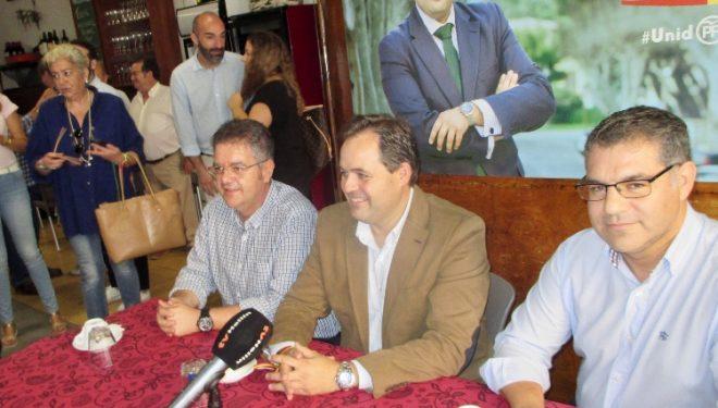 Paco Núñez  presenta un equipo unido e ilusionado para ganar las primarias del PP