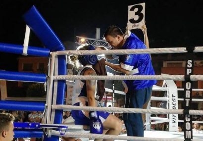 La boxeadora Ángela Andújar Cabrera derrotada en el tercer asalto en su debut en Jumilla