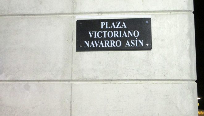 Don Victoriano Navarro Asín ya tiene su plaza en Hellín