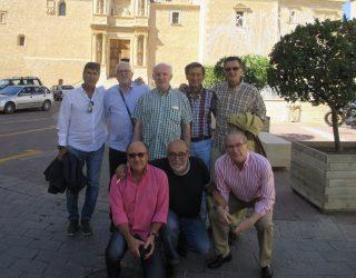 Jugadores del Hellín Deportivo de los años 70, visitan la Feria