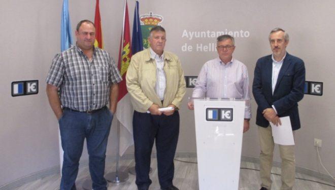 La Lonja Agropecuaria de Albacete, lleva a cabo su reunión semanal en Hellín