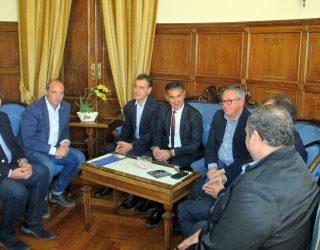 """""""Mi compromiso es que el  tren híbrido Madrid-Cartagena tendrá una parada en Hellín,   a partir del primer trimestre del próximo año"""""""