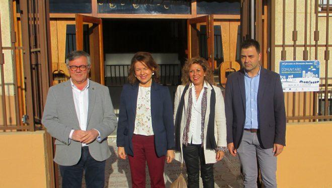 """Inauguración del Centro de Servicios Sociales """"Madre María Luisa"""" en el barrio del Calvario"""