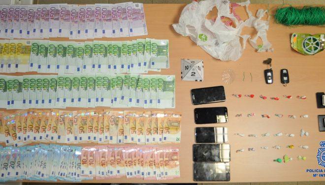 Detenidos dos hermanos por tráfico de drogas