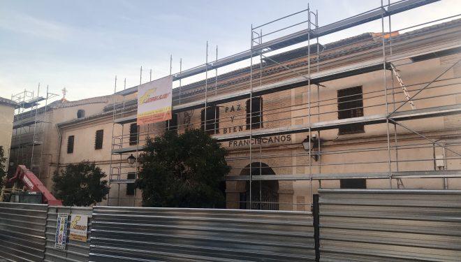 Comienzan las obras de remodelación del Convento de San Francisco