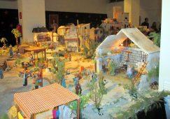 El belén organizado por la Hermandad de María Magdalena ya luce en el Museo de Semana Santa