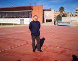 El concejal Amador Casado denuncia el abandono de unas pistas en la zona deportiva de Santa Ana