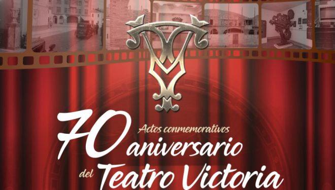 El Teatro Victoria se viste de gala para celebrar su 70 aniversario