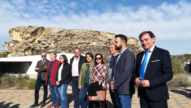 García-Page inauguró las instalaciones del Parque Arqueológico del Tolmo de Minateda