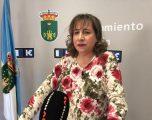 """La portavoz de Ciudadanos, María Jesús López, considera """"el timo del tren"""" la parada del segundo híbrido S730 en Hellín"""