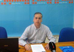 Pedro García, coordinador sectorial del PP, da a conocer una batería de medidas económicas