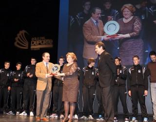 Premio para el Voleibol de Hellín, en la Gala del Deporte