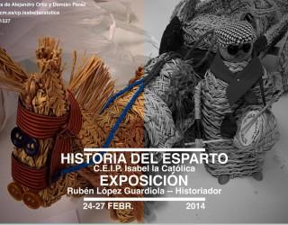 """Exposición """"Historia del esparto"""", un tesoro de nuestra localidad"""