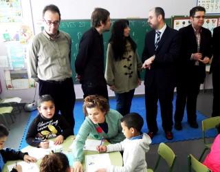 Visita del Viceconsejero de Educación al Colegio Público Número 6