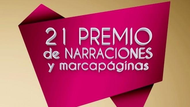 21 Premio Municipal de Narraciones y Marcapáginas