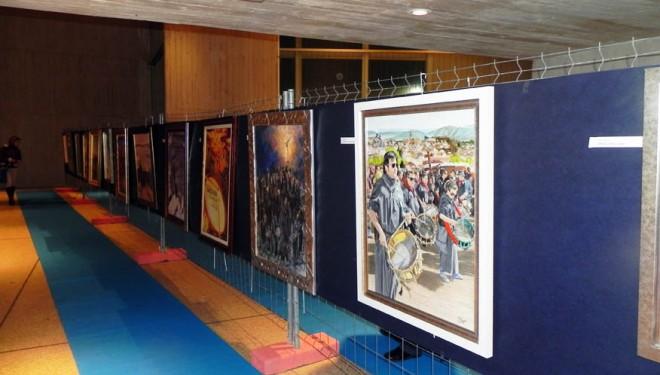 Inaugurada la exposición de carteles de la Tamborada