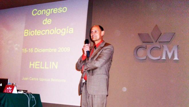 Juan Carlos Izpisúa Belmonte vuelve a Hellín