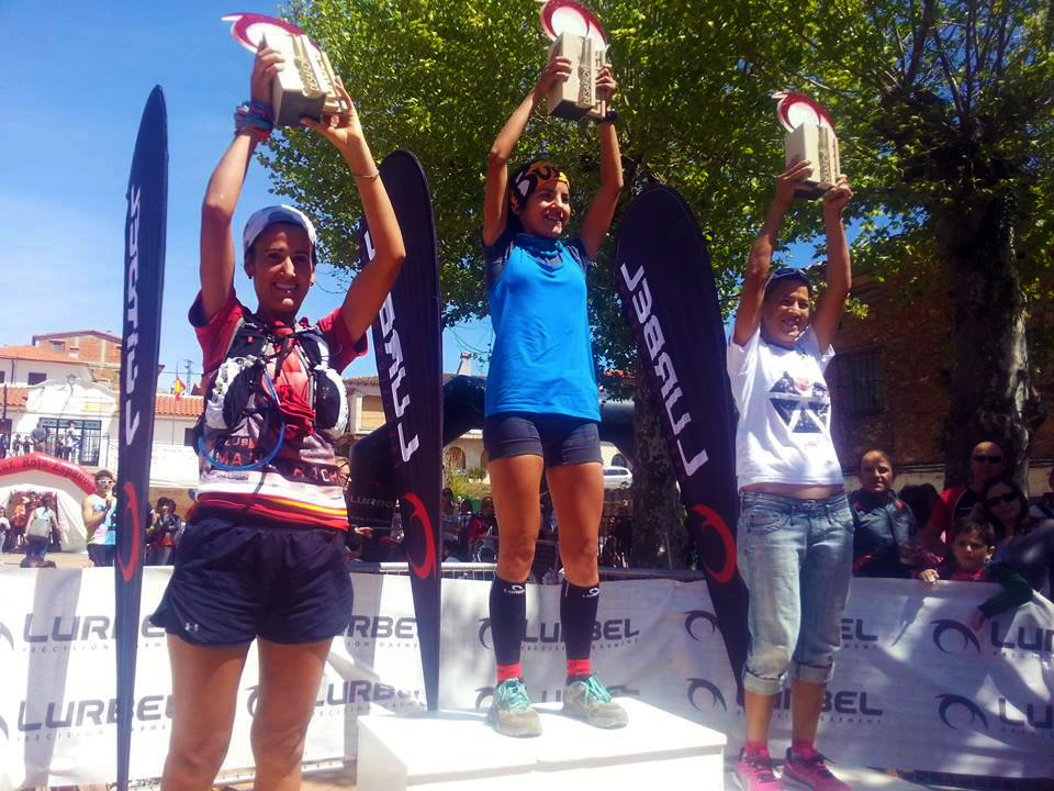 Podio Femenino Trail Largo