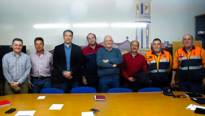 Ayuntamiento, cuerpos de seguridad, y asociaciones organizadoras se reúnen para preparar la organización de la próxima Semana Santa