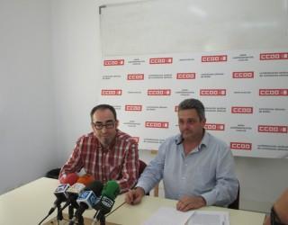 El sindicato de Comisiones Obreras en contra del proceso abierto a tres estudiantes hellineros por manifestarse